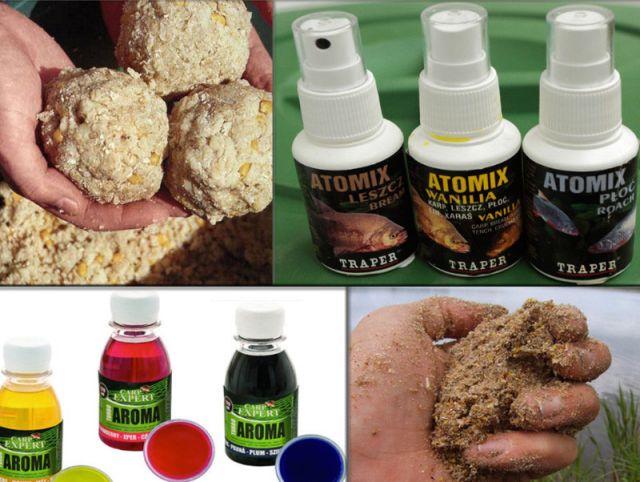Ароматизаторы для карпа: выбор запахов по сезонам года