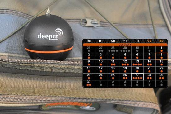 встроенная панель календаря