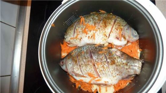 рыба в емкости