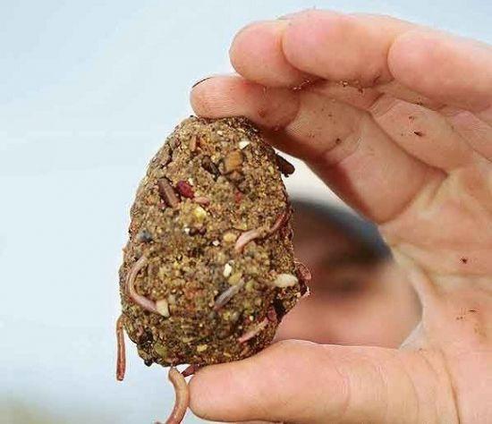 Животные компоненты в прикормке