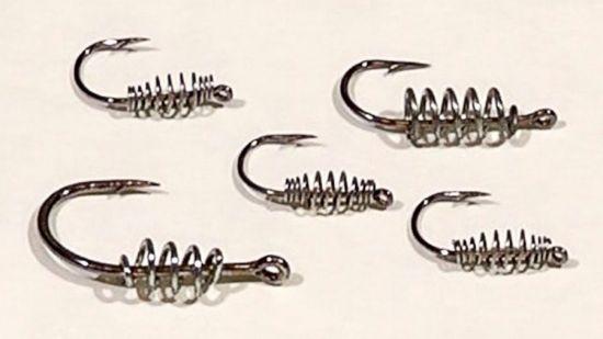 крючки с проволочной спиралью