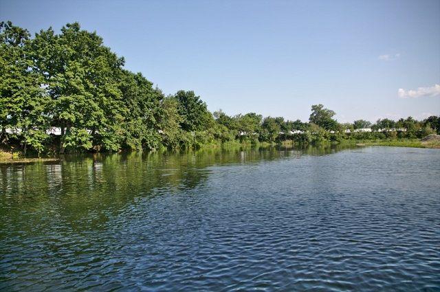 Участок реки в Кавказском государственном заповеднике