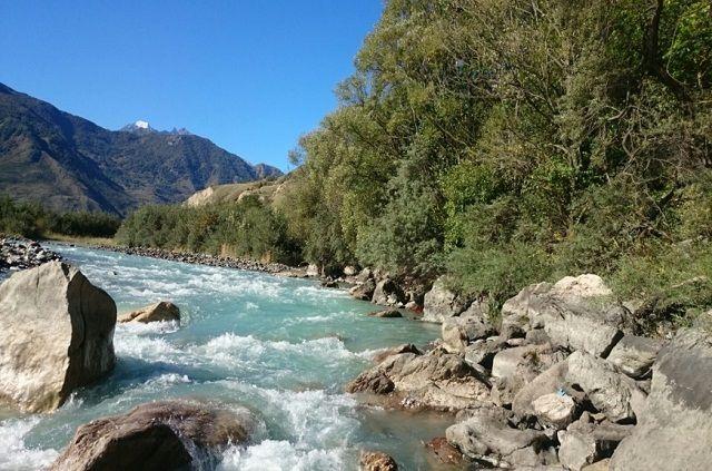 Верховье реки Белой