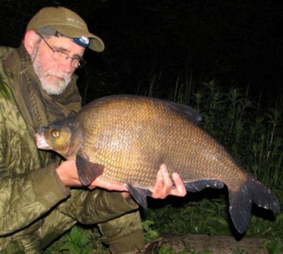 ночная рыбалка на леща