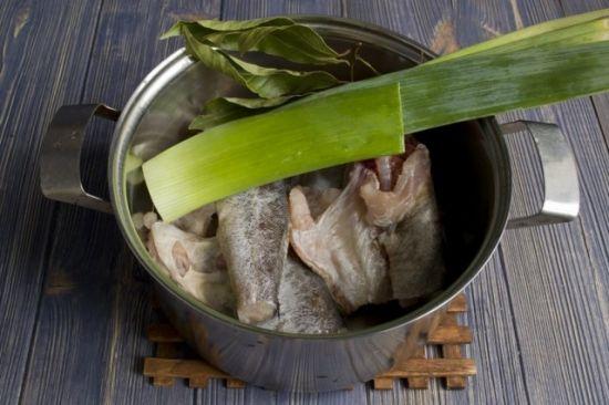 размораживание рыбы