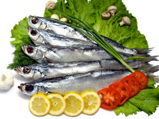 сушённая рыба