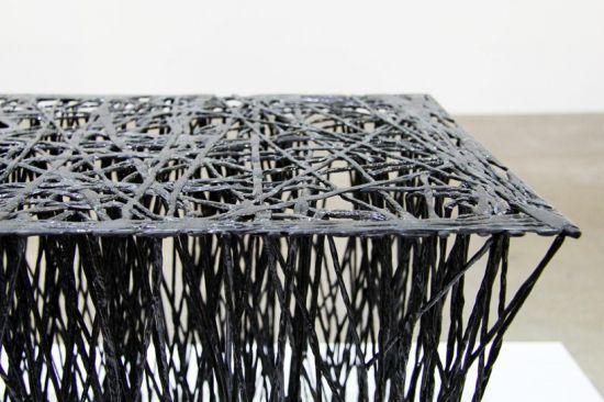 плетение углепластиковых волокон