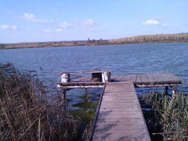 Мостки на пруду