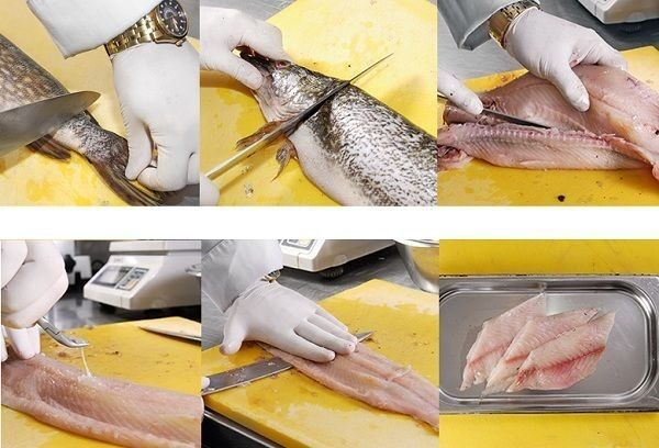 6 этапов разделки рыбы