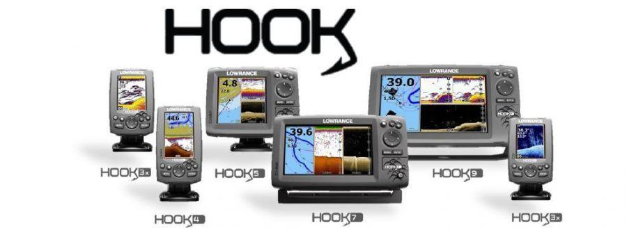 Эхолоты серии Hook