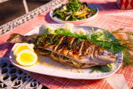 рыба с разрезами
