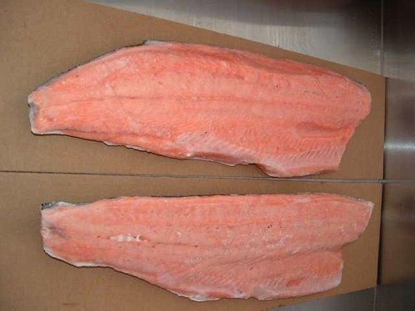 Мясо замороженных рыб