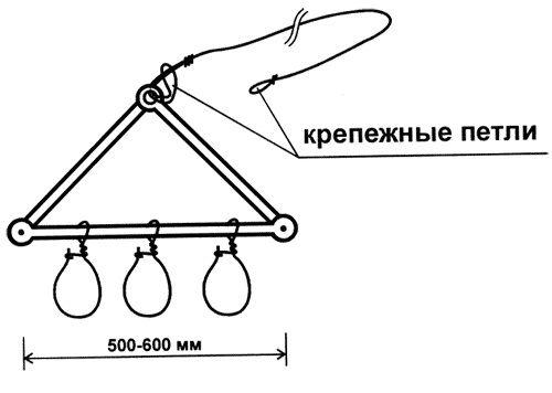 Треугольный кукан