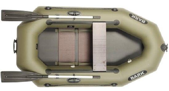 Расположение сиденья в лодке