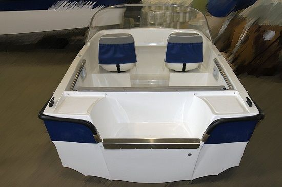 Корма лодки