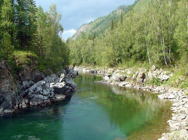 На сибирской реке