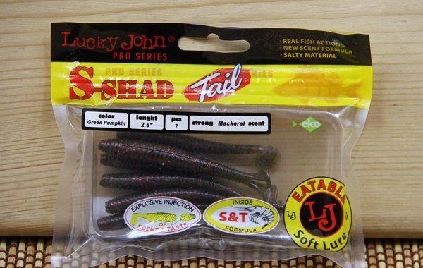 Lucky John S-Shad Tail