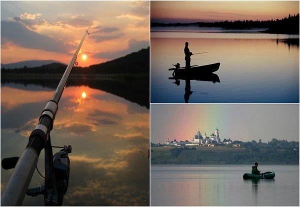 Виды озера с разных точек