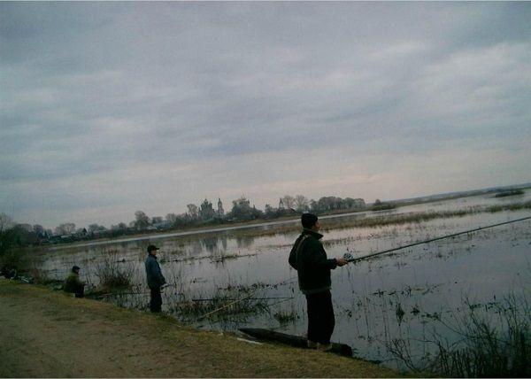 Рыбалка на мелководье