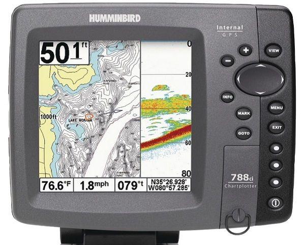 Эхолот со встроенным GPS