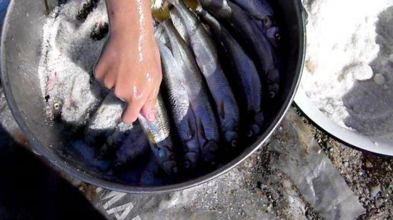 рыба в кастрюле