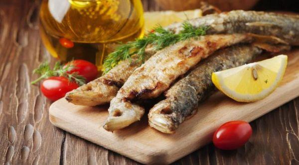 рыба с лимоном