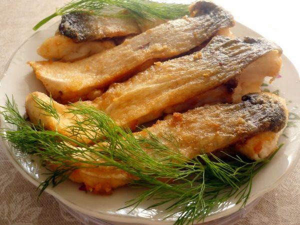 рыба с укропом