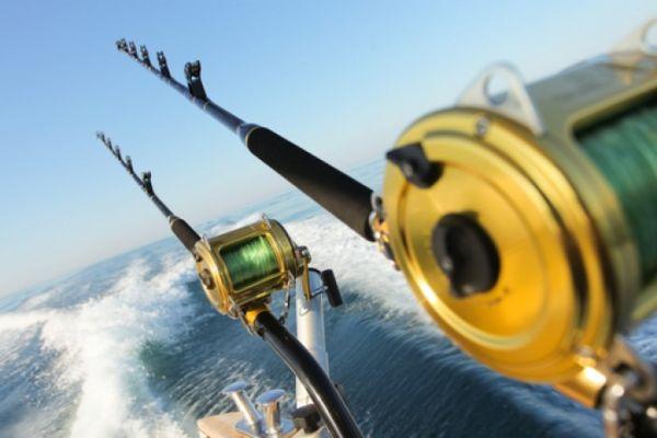 удочка для морского троллинга