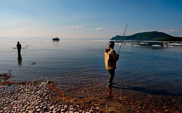 Береговая рыбалка