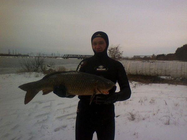 Охотник на озере Айдыкуль