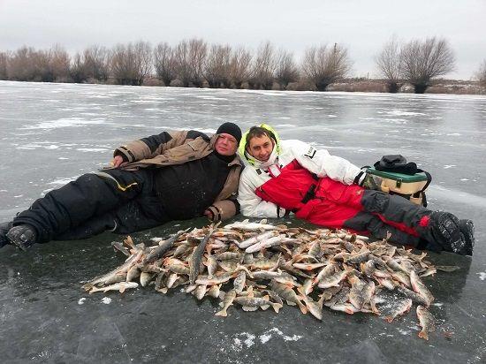 Рыболовы с богатым уловом