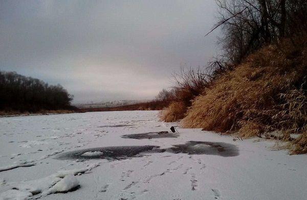 На Жиздре зимой