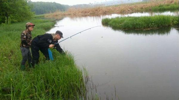 На реке Лысьва