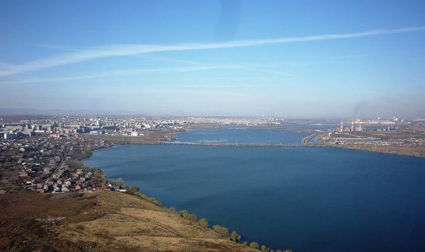 Магнитогорский заводской пруд