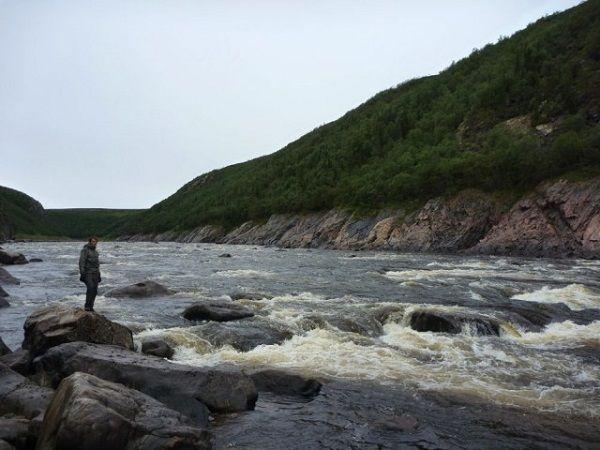 На бурной реке