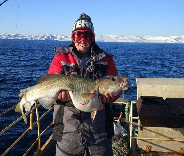 Трекса в руках рыболова