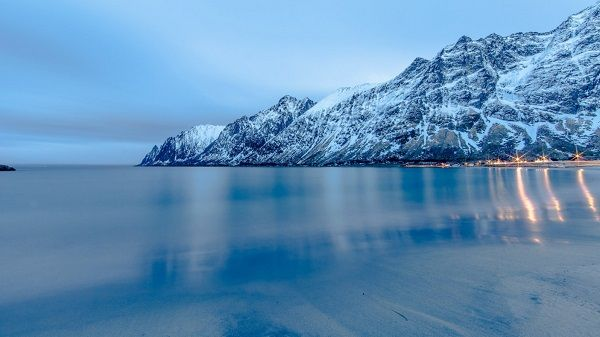 Зимний фьорд