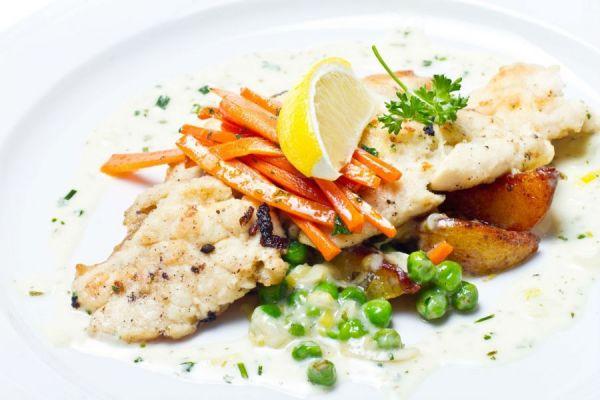 Рыба с овощами