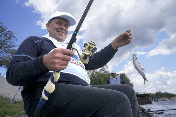 Рыболов на соревнованиях