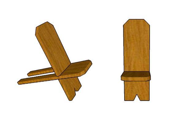 Собранный стул