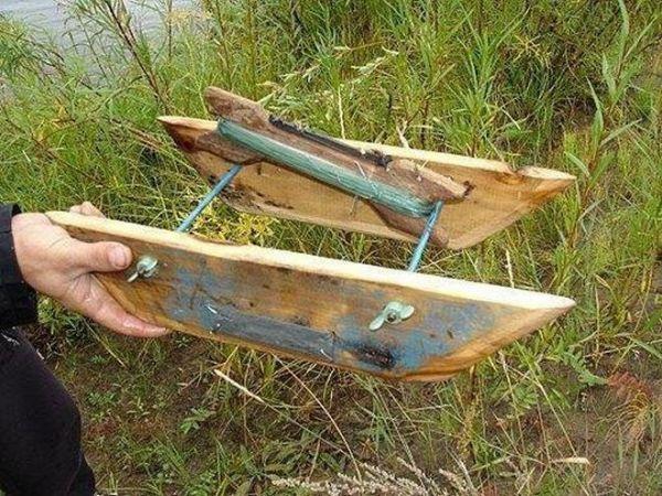 Рыболовный кораблик