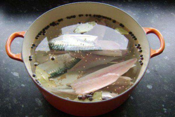 Маринад для рыбы с дижонской горчицей