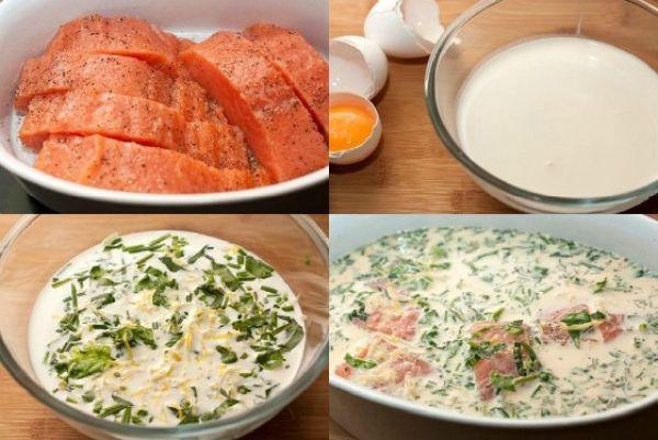 рыба с перцем и сыром