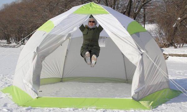 Краш тест палатки