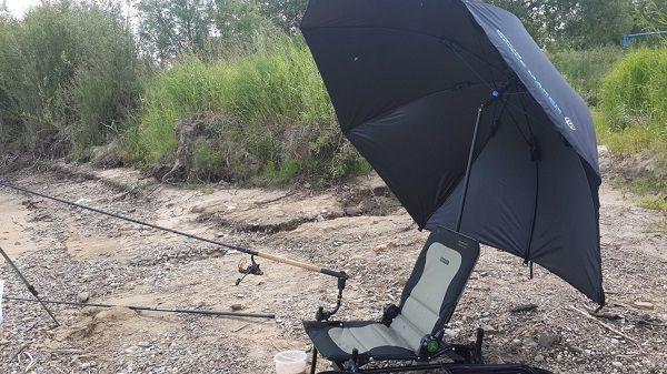 Зонт совмещенный с креслом