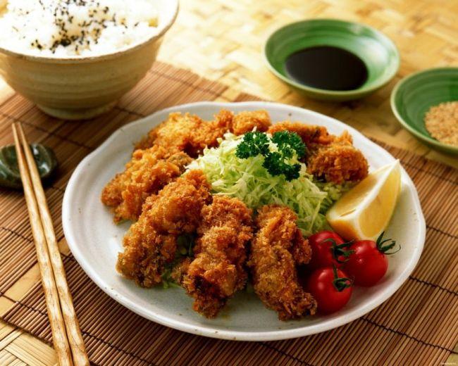 Рыба в темпуре