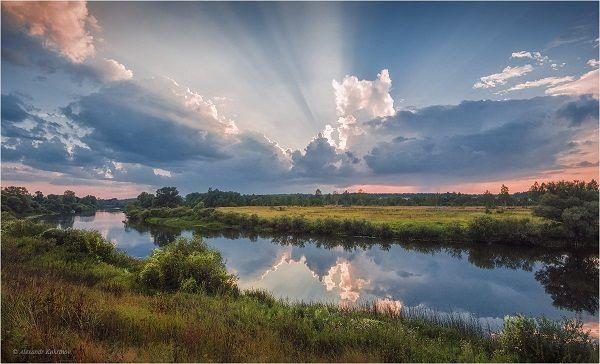 Закат над Угрой