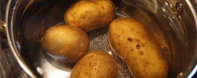 Варка картофеля