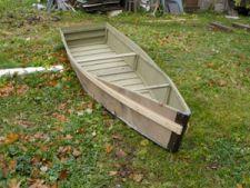 лодка плоскодонка