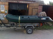 прицеп под лодку из ПВХ